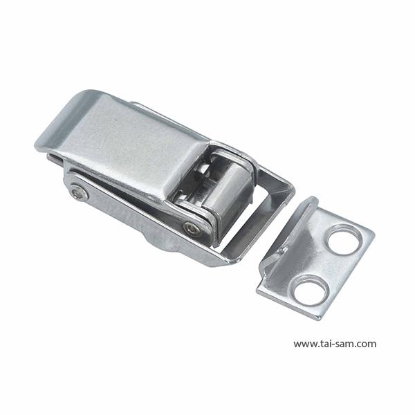 小型不锈钢弹簧压缩型搭扣/手柄下弯