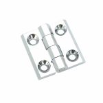 锌合金铰链(沉孔)(亮铬)